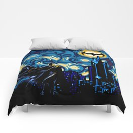 Starry Knight iPhone 4 4s 5 5c 6, pillow case, mugs and tshirt Comforters