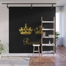 Royal King & Queen Wall Mural