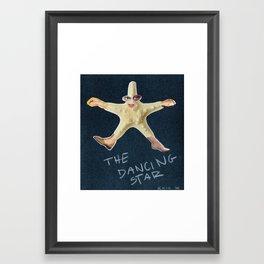 The Dancing Star Framed Art Print