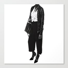Headless Woman Canvas Print