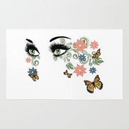 Summer eyes Rug