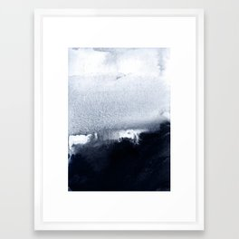 into the deep 2 Framed Art Print
