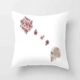 flourish print Throw Pillow