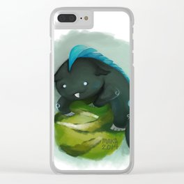 Monster Clear iPhone Case