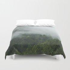 Tree Fog Duvet Cover