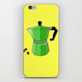 Green Rainbow Espresso iPhone Skin