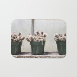 Three Little Cacti Bath Mat