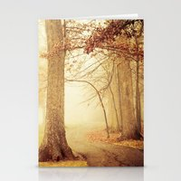 eddie vedder Stationery Cards featuring I Heard Whispering in the Woods by Olivia Joy St.Claire - Modern Nature / T