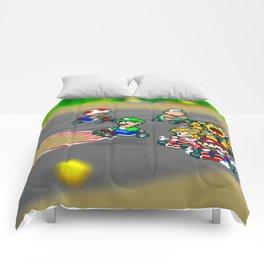 Mario Circuit Comforters