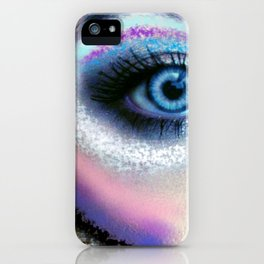 Eye of the Warrior iPhone Case
