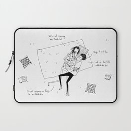 cool for cats Laptop Sleeve