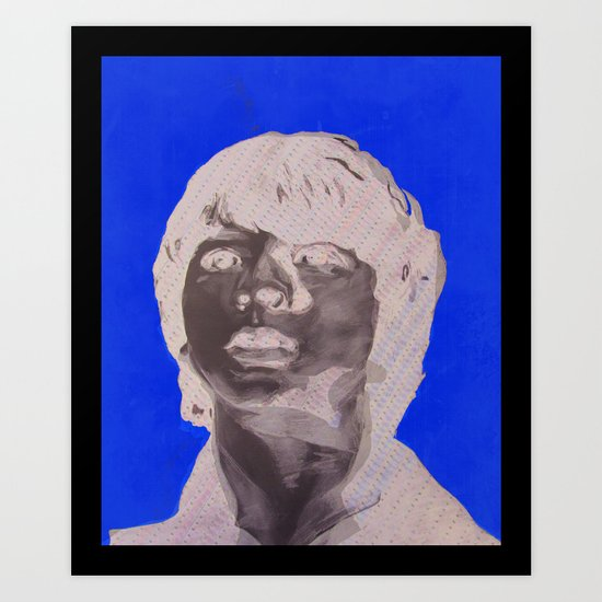 Joel Courtney  Super 8 Art Print