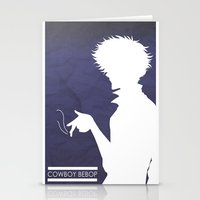 bebop Stationery Cards featuring Cowboy Bebop ver 2 by AWAL
