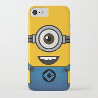 minion iPhone & iPod Cases featuring MINION! by Dee9922