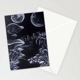 Moons & Mushrooms Stationery Cards