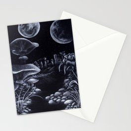 Moons & Mushrooms Stationery Cards