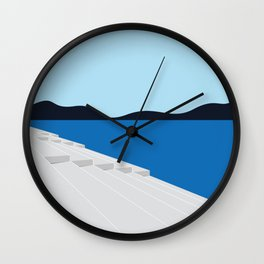 Zadar Sea Organs Wall Clock