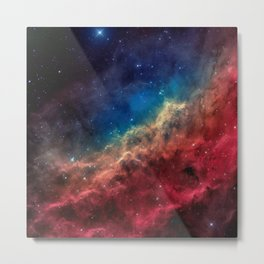 California Nebula Metal Print