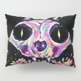 Cat skull Pillow Sham