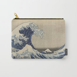 The Great Wave Japanese Art Carry-All Pouch