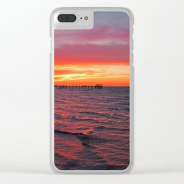 Dreams as Vast as the View Clear iPhone Case
