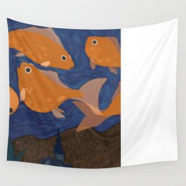 Starry Fish Wall Tapestry