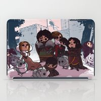 bouletcorp iPad Cases featuring Tribute by Bouletcorp