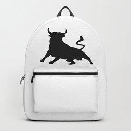 Bull Silhouette Backpack