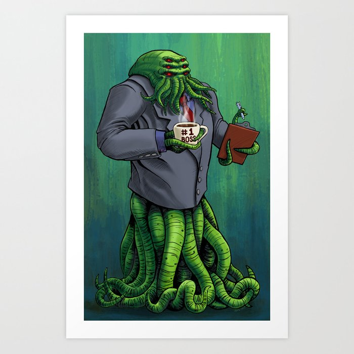 Boss Monster Art Print