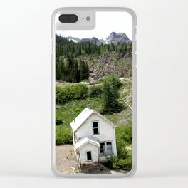 Switchbacks Down from Red Mountain Pass to the Idarado Mine Clear iPhone Case