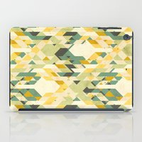 yetiland iPad Cases featuring des-integrated tartan pattern by Yetiland
