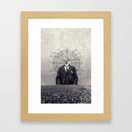 Angles of view Framed Art Print
