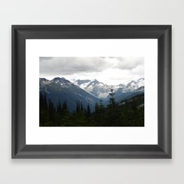 Whistler views Framed Art Print