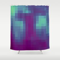 blues Shower Curtains featuring Blues by kb7640