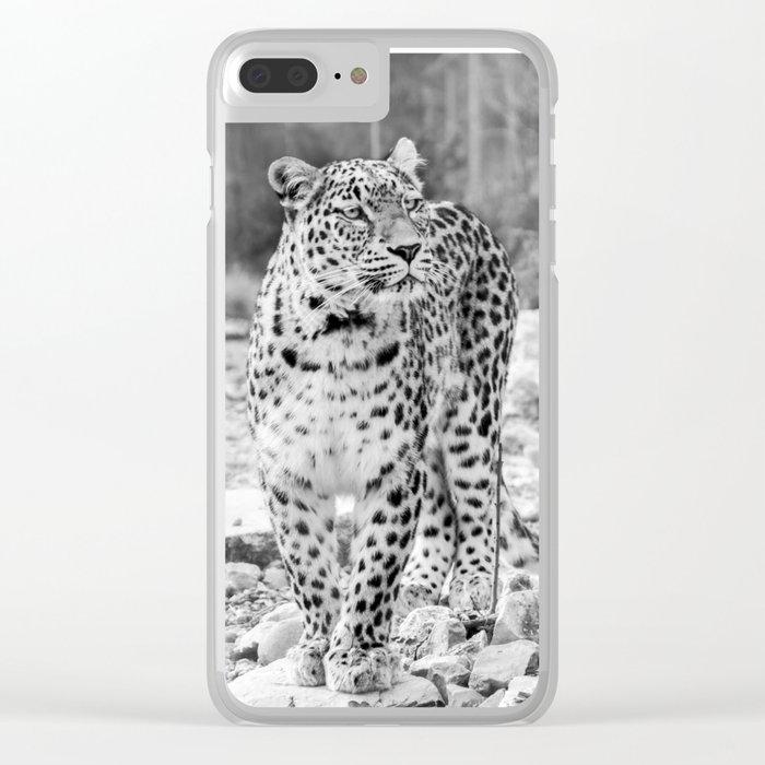 Persian Leopard 2 Clear iPhone Case