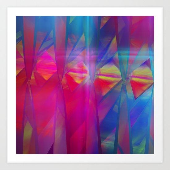 Light and Colors Art Print