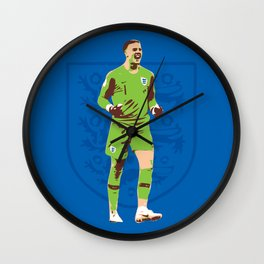 Jordan Pickford - Hand Picked Wall Clock