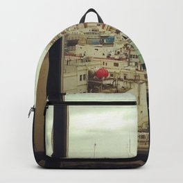 Window of the soul. Backpack