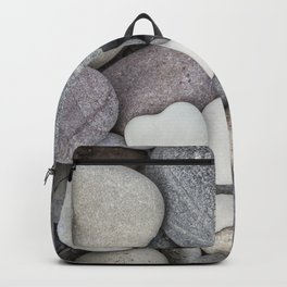 Heart Pebble Stone Mineral Love Symbol Backpack