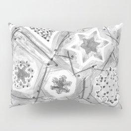 Koch Snowflakes Pillow Sham