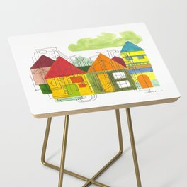Little Block Town Side Table
