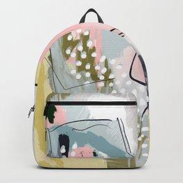 Dana Abstract Print Backpack