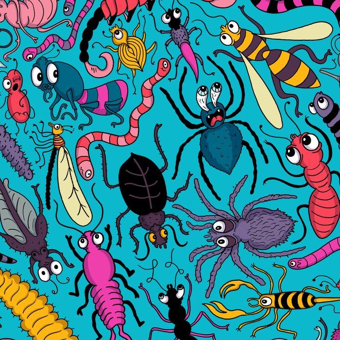 Bug Pattern Leggings