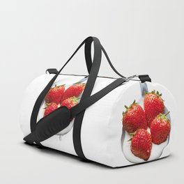 Strawberries 'n' Cream Duffle Bag