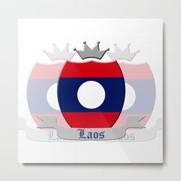 Laos Metal Print