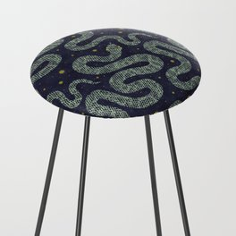 Space Serpent Counter Stool