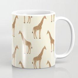 Giraffe animal minimal modern pattern basic home dorm decor nursery safari patterns Coffee Mug