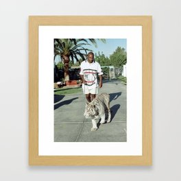 Mike Tyson Framed Art Print
