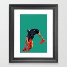 The Feeling Framed Art Print
