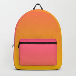 Strawberry Gold Ombre Backpack